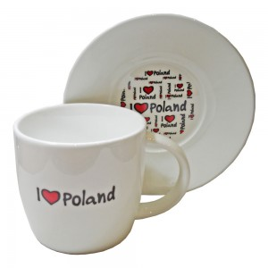 Filiżanka F7 I love Poland