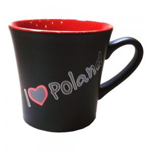 KD czarno-czerwony I love Poland