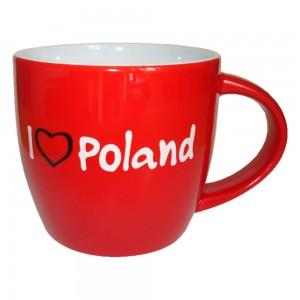 KG czerwony I love Poland