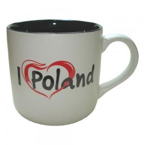 KR biało-czarny I love Poland