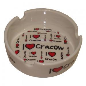 Popielniczka I love Cracow